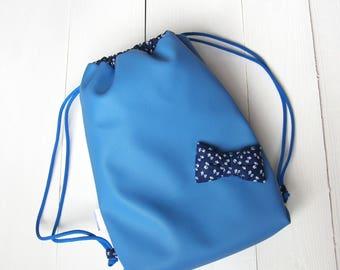Girls drawstring Backpack, Kids drawstring Backpack, Gym bag, Snack-back, Dance bag