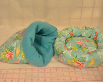 Hedgehog Snuggle Sack, Cozy Bed, *HH14, Critter Snuggle Sack, Bed, Carrier Pouch, Guinea Pig Snuggle Sack & Bed, Ready to Ship!