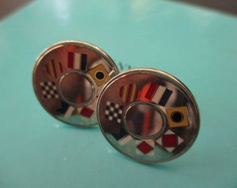 Genuine vintage Tiffany & Co cufflinks - sterling silver