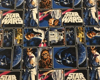 Star Wars fabric! A New Hope characters
