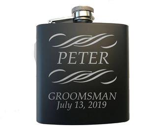 Gift for Groomsman - Groomsman Gift - Flask for Groomsman - Groomsman Flask - Groomsmen Flasks - Personalized Groomsman Gift - Groomsmen