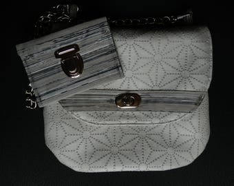 Small bag with its matching coin wallet