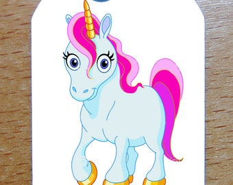 Medal plate military style army GI Unicorn personalized