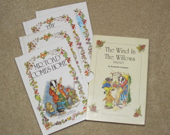 The Wind in the Willows Library - Box Set of 4 Hardcover Books