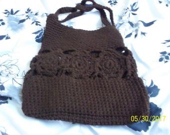 crochet purse, Flower purse, Women's purse