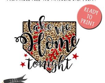 Take me Home tonight- INSTANT DOWNLOAD - PDF Printable