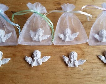 Angel Seed Bombs 4, or 24 In Memory Of Seed Bombs, Organic GMO Free, Wild Flower Perennial Seed Bombs