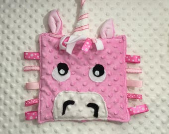 lovey crinkle Taggie toys for babies to toddler