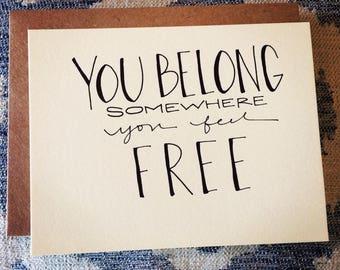 you belong (post-note)