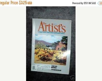 Summer Sale The Artist's Magazine February 1986