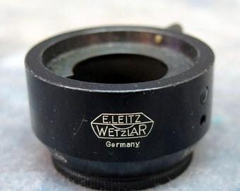 Lecia E. Leitz, Wetzlar VALOO Lens Hood for 5cm/f3.5 Leitz Elmar Lens