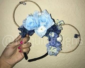 Cinderella Wire Ears, Princess Cinderella Wire Ears, Cinderella Ears, Princess Cinderella Ears, mickey ears, Minnie Ears, disney ears