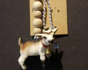 Funny goat eeh Geitige keychain