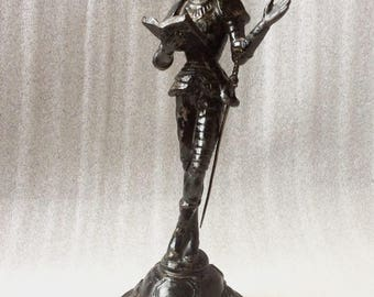"Don Quixote ""Man of La Mancha"" Cast Iron Figure-Statue From Russia"
