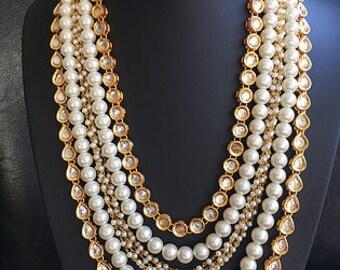 Mughal Jewelry, Indian Jewelry, Pakistani Jewelry, Punjabi jewelry, Ethnic jewelry, Kundan jewelry, Bollywood Jewelry, Kundan Haar set