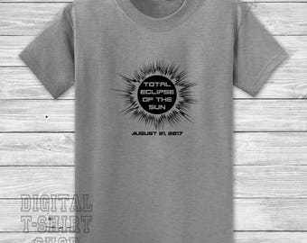 Total Eclipse Of The Sun August 21, 2017 T-shirt