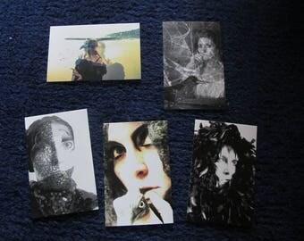 CROW series mini collector cards set 1