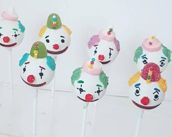 Clowns/Themed Cakepops - Dozen