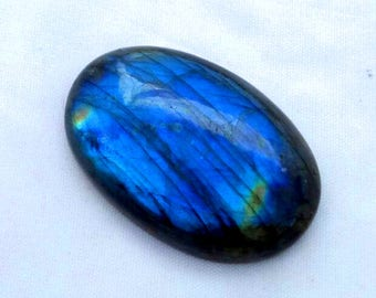 Fabulous Labradorite smooth  oval shape selected one piece   with blue fire  , 26 mm  to 41 mm with amazing quality