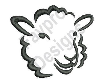 Sheep Outline - Machine Embroidery Design