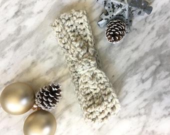 Crochet Chunky Ear Warmer | Winter Headband