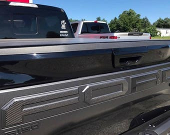2017 Ford Raptor Carbon Fiber Tailgate Overlay