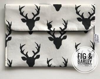 Diaper Clutch - Bucks Forest - Gender Neutral Diaper Wallet - Diaper Bag Organizer - Small Diaper Clutch - Baby Shower Gift - Nappy Bag