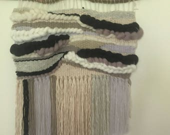 Woven wall hanging/ weaving/ modern tapestry large