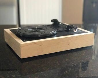 Handcrafted Hardwood Vinyl Record Player