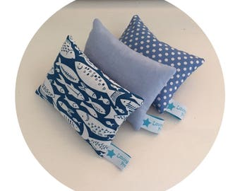 Pretty floral or nautical themed dried lavender sachets