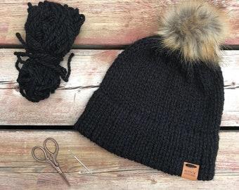 Knit Double Brim Beanie