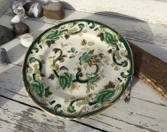 Masons Ironstone Chartreuse plate