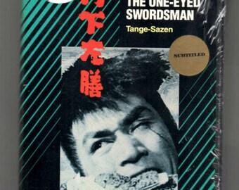 The One-Eyed Swordsman Tange-Sazen, new VHS , Japanese