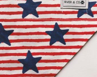 Americana | Reversible Dog Bandana
