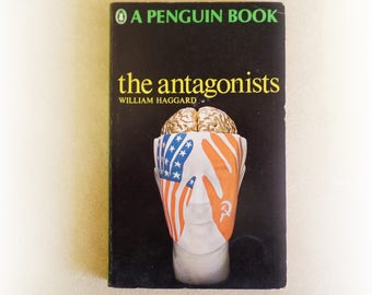 William Haggard - The Antagonists - Penguin crime vintage paperback book - 1964