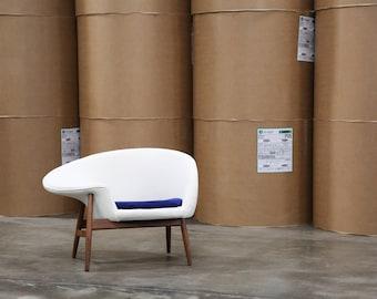 Hans Olsen U0027Fried Eggu0027 Lounge Chair