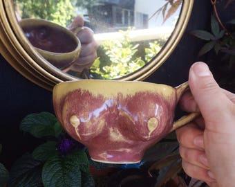 Boob mug teacup