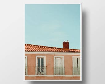 travel photography summer decor france photography south of france print europe print architecture photo summer print instant download