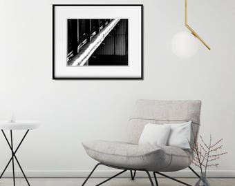 Modern Office Art Print, Large Geometric Poster, Modern Photo Poster, Industrial Decor Ideas, Modern Photography Poster, Large Photo Poster