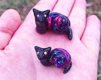 Galaxy CatSnail - Handmade Figurine