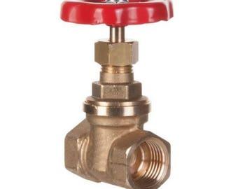 Shutoff valve wheel red (15/21, 20/27, 26/34)