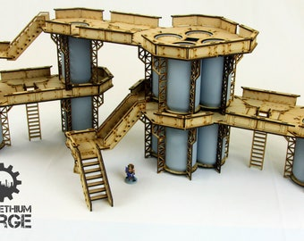 Can Tower Terrain Set