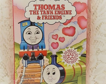 thomas the tank engine valentine cards american greetings forget me not one pack of - Vintage Valentines Cards