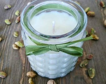 CLEARANCE Pistachio Dream Cake - Decorative Soy Fragrance Candle
