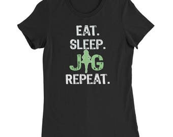 Irish Dancing Shirt - Irish Dance Shirt - Irish Dancing Gift - Irish Feis - Eat Sleep Jig - Feis Mom Shirt - Keep it Reel  T-Shirt