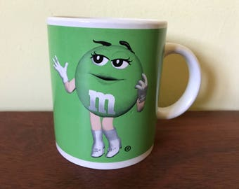Green M&M Mug / Coffee Cup