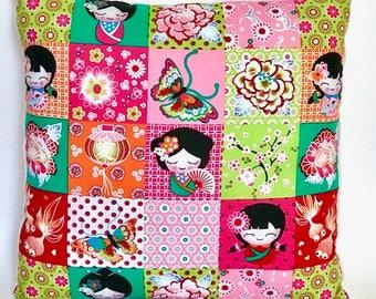 """Pillow soft cushion """"Lucky charm"""" gift girl nursery decoration"""