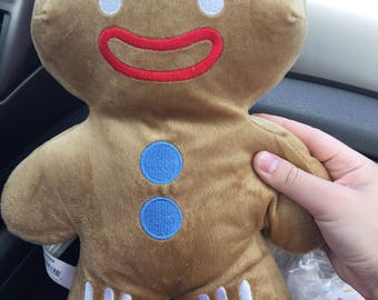 Gingerbread man Gingy from Shrek plush