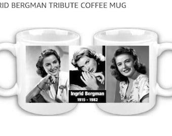 Ingrid Bergman - Hollywood Legend - Coffee Mug