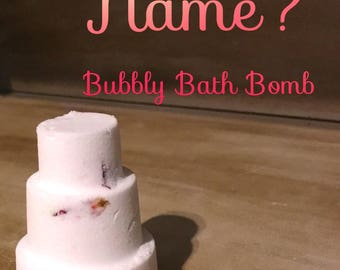 What's In A Name? Bubbly Bath Bomb